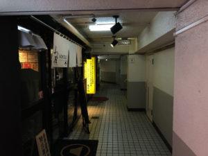 雑居ビル内部の写真