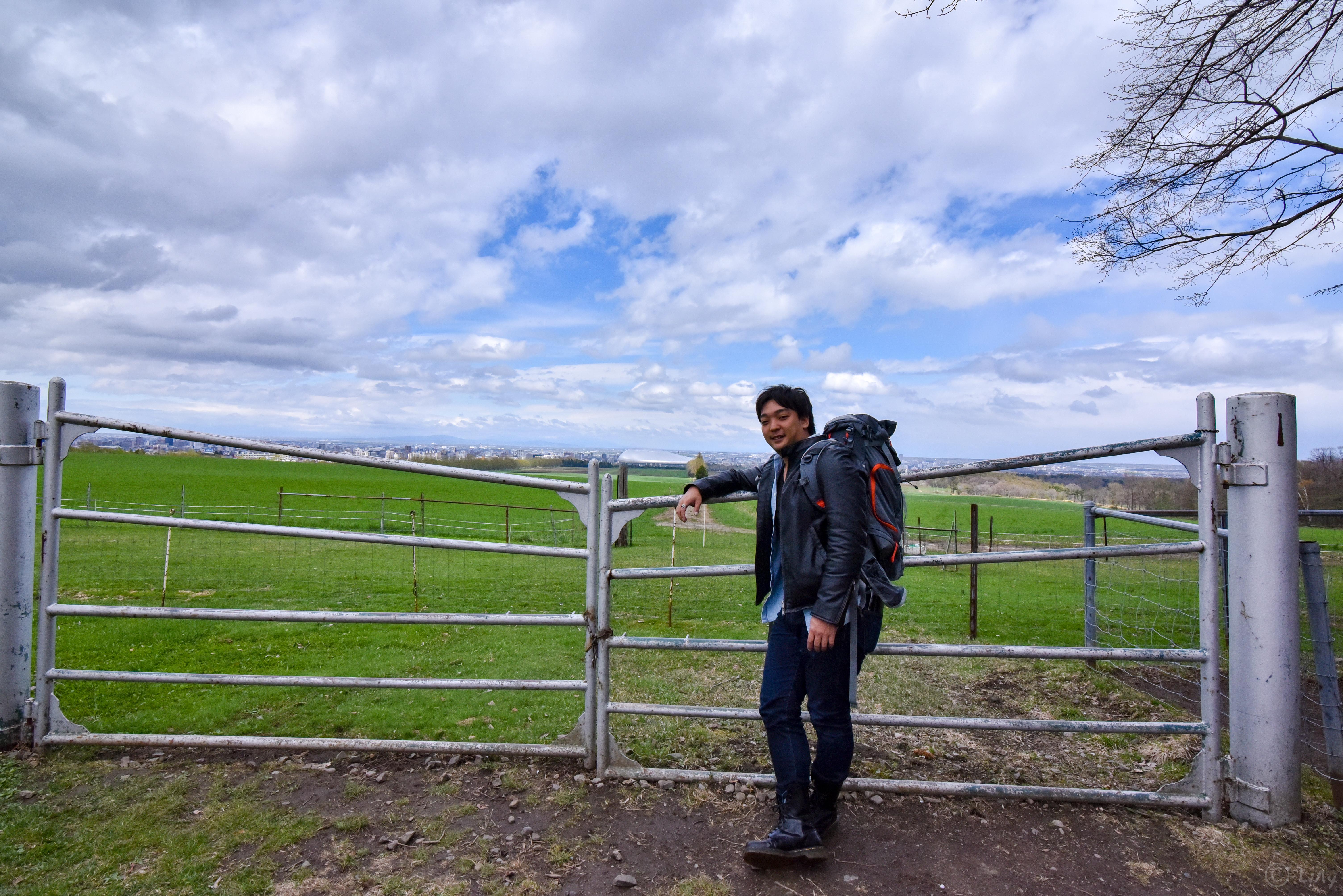 羊ヶ丘展望台のlilly
