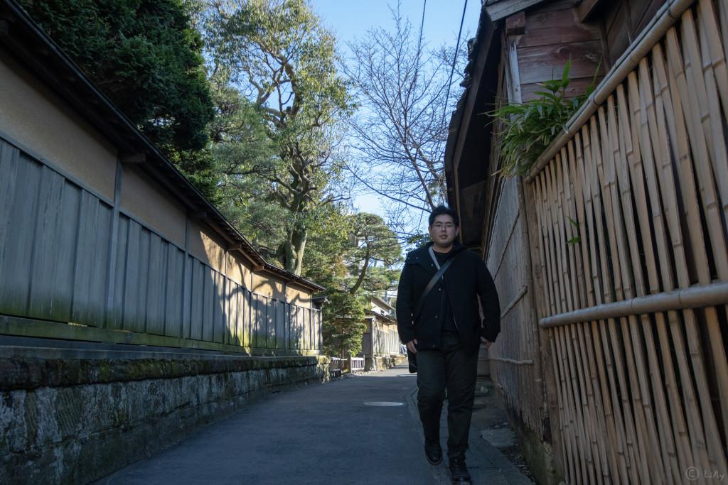 通りを行く奈良
