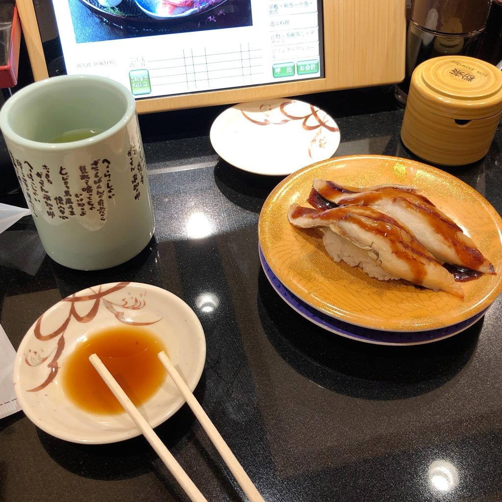 東京駅でお寿司