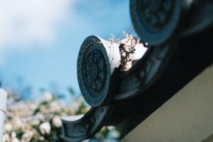 寺社仏閣の屋根のアレ